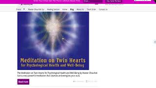 Baixar Meditation on Twin Hearts for Psychological Health and Well-Being CD