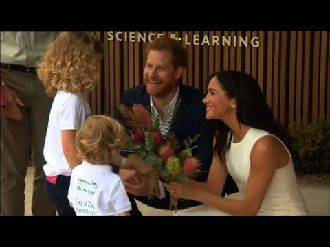 Prince Harry and Meghan visit Taronga Zoo in Sydney