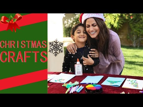 HOLIDAY CRAFTING WITH KIDS (filmed on Google VR180)