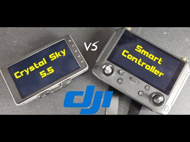 Dji smart controller VS Crystal Sky 5 5 monitor  Better? Worse