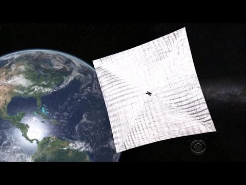 Solar-powered satellite to set sail for space