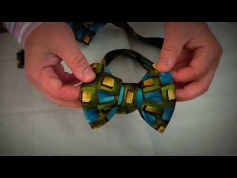 Make Fabulous Bow Tie Out Of Regular Tie