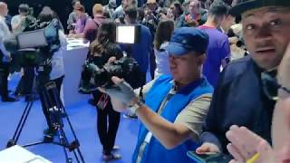 Galaxy Note9 experience zone craziness - Samsung Unpacked 2018