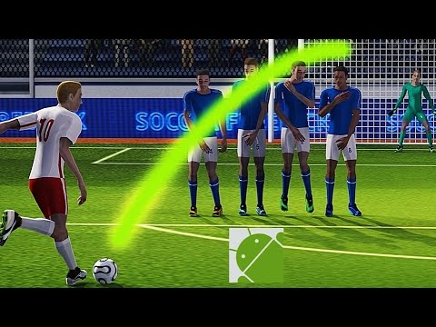 Soccer World League FreeKick  Android Gameplay HD