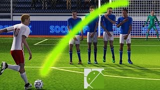 Soccer World League FreeKick - Android Gameplay HD