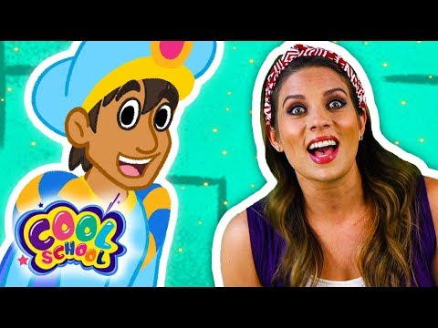 Aladdin and the Magic Lamp - Part 8   FINAL PART   Story Time with Ms. Booksy   Cartoons for kids