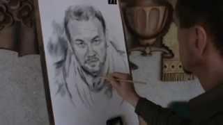 Обучение живописи ,урок №3, Уличный портрет в