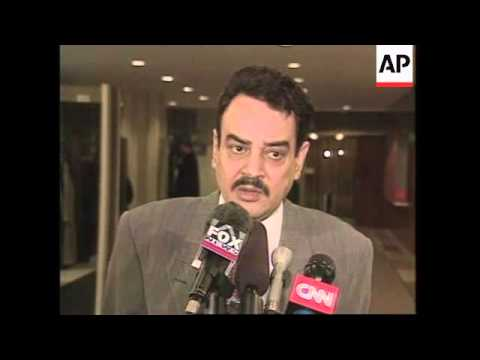 UN: NEW YORK:  IRAQ OIL FOR FOOD PROGRAMME REPORT