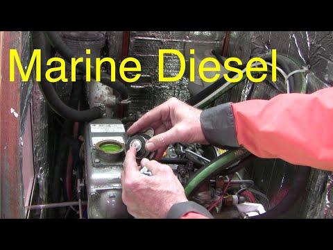 Understanding marine diesel engines: Yanmar coolant exchange
