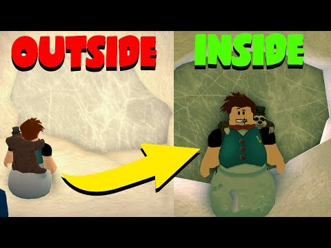 GETTING IN THE ICE CAVE! (Roblox Jailbreak)