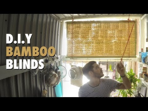 DIY - Roll Up Blinds, how-to