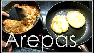 Wir Kochen .... Arepas | Kolumbianische Pfannkuchen