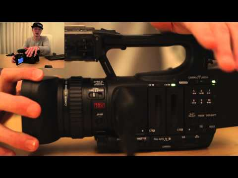 Canon XF105 Tutorial