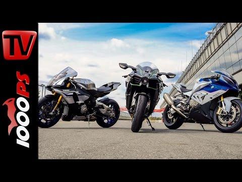 Soundvergleich   Kawasaki H2 vs Yamaha R1M vs BMW S1000RR