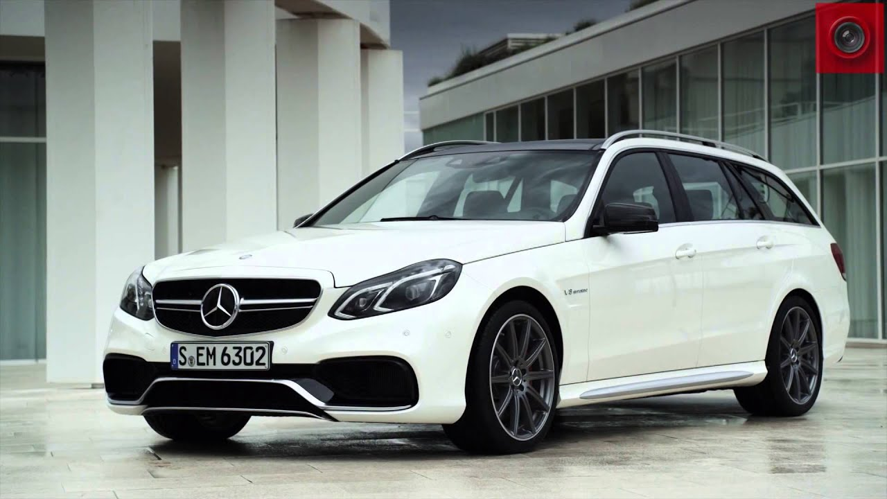 E63 AMG ESTATE 2015 - YouTube