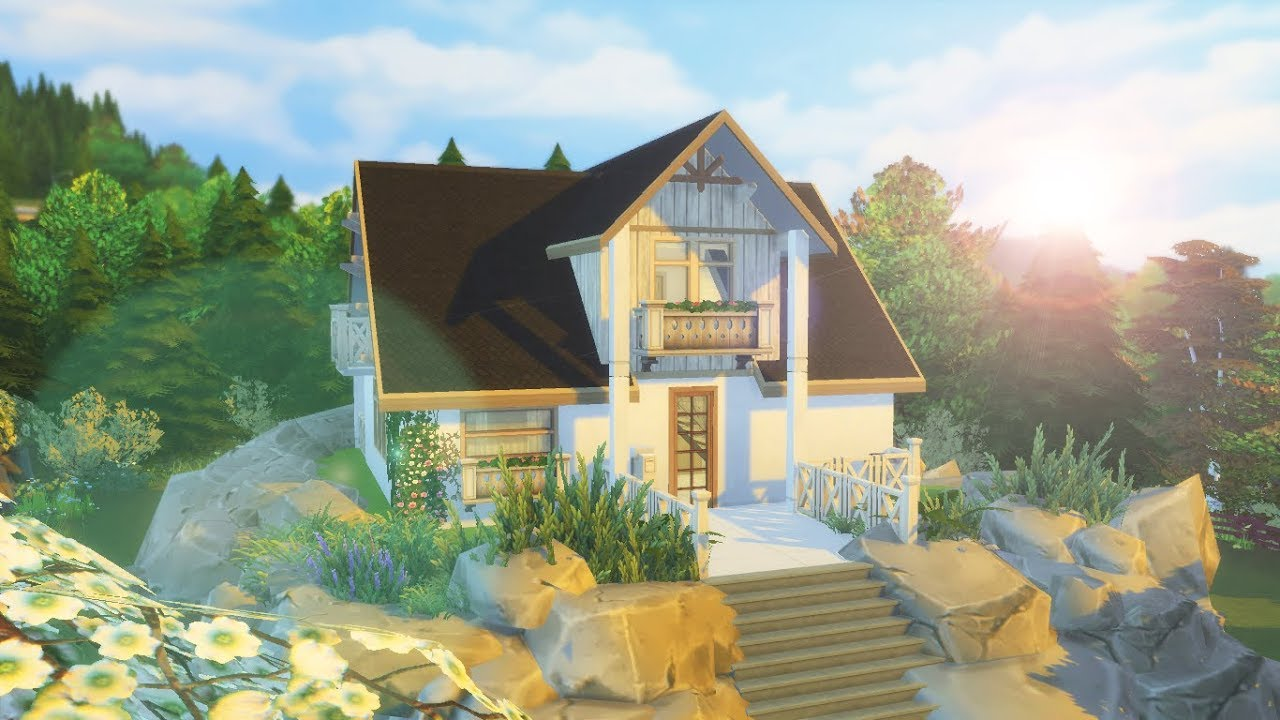 W superbly NOWOCZESNY DOMEK W GÓRACH - The Sims 4 - Speed Build - YouTube JM44