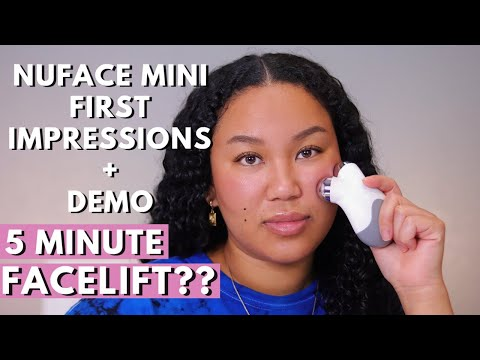 nuface-mini:-does-it-really-work?- -first-impressions-+-demo