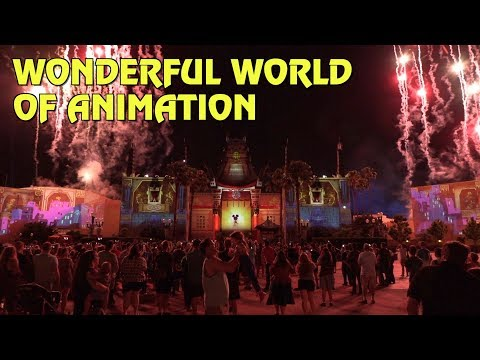 Wonderful World of Animation - Full Show at Disney's Hollywood Studios