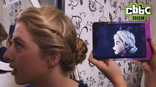 Frozen Elsa Hair Tutorial on Friday Download - CBBC