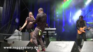 Shaggy + Samira + Melissa Musique - 5/6 - Never Knew What I Missed + If U Slip U Slide - RJ 2014