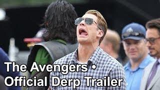 the avengers • official derp trailer