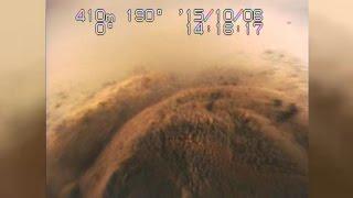 田沢湖最深部の映像公開 日本一深い湖