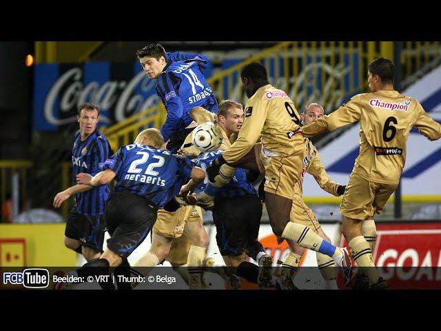 2007-2008 - Jupiler Pro League - 24. Club Brugge - SC Charleroi 0-2