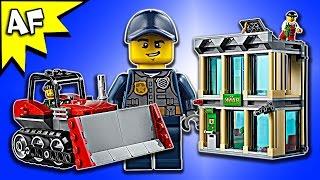 Lego City Police Bulldozer Break-In 60140 Speed Build