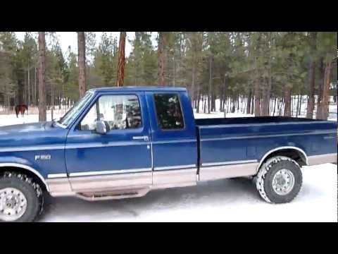 Quick look at a 1996 Ford F-150 Extended Cab Eddie Bauer 4x4 Long Bed.
