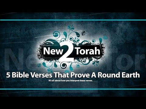 5 Bible Verses That DISPROVE The Flat Earth and Bonus!