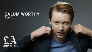 Calum Worthy on playing a killer's 'last moment of freedom' in 'The Act'