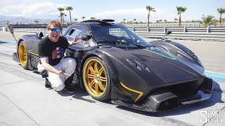 Pagani Zonda R UNLEASHED! The Most Insane Screaming V12 Machine