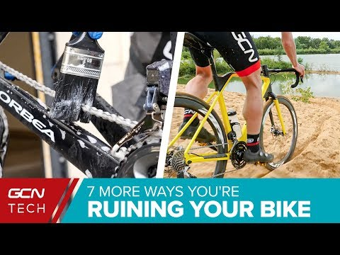 7 More Ways You're Accidentally Ruining Your Road Bike |  Bicycle Maintenance Mistakes To Avoid