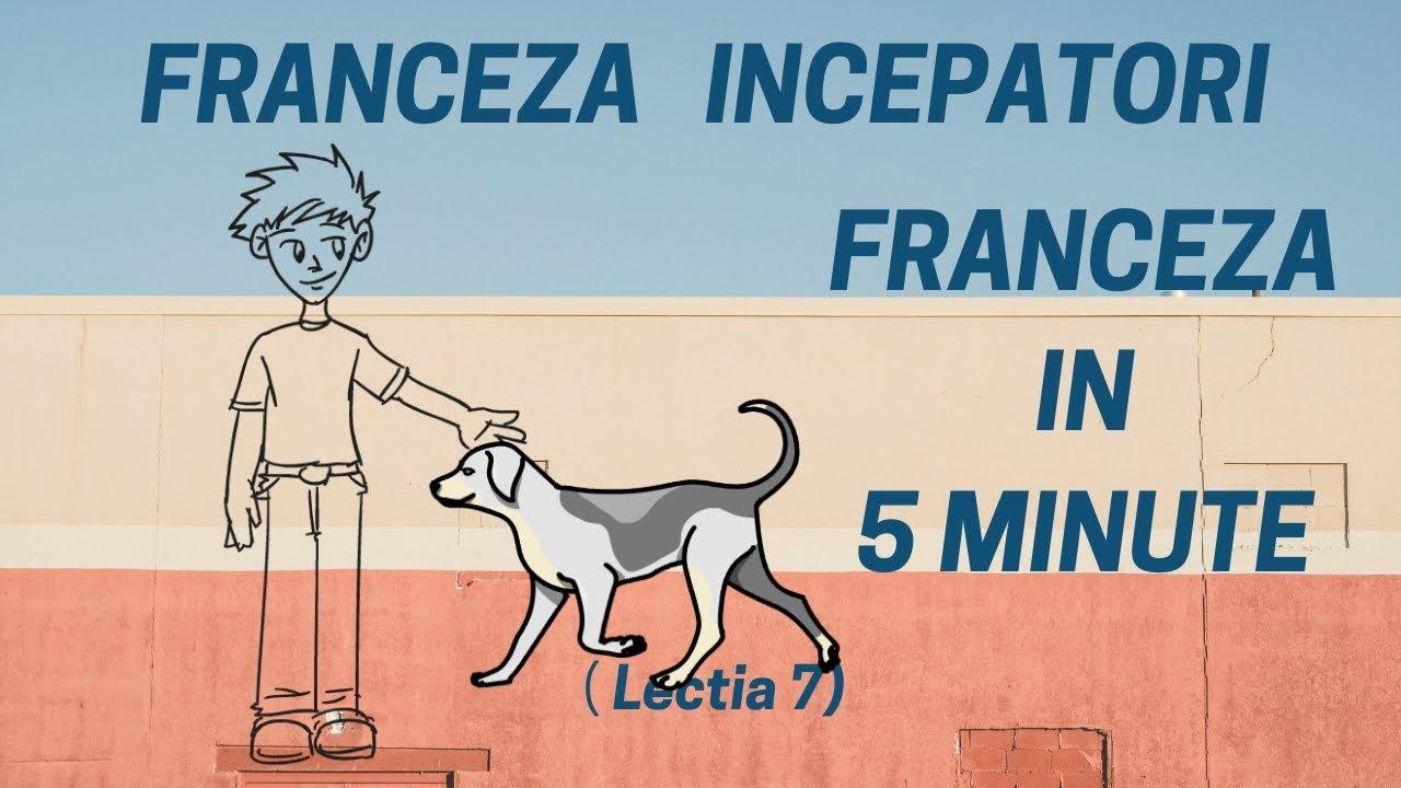 Franceza in 5 minute - Curs franceza incepatori online  (2019) - Lectia 7