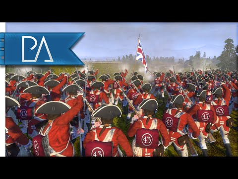 INTENSE U.S. LINE BATTLE - Regiments Of American Revolution Mod Gameplay