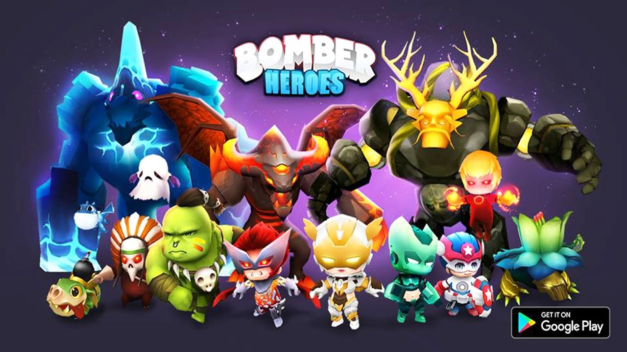 Bomber Heroes: Bomberman Game 3D Android Gameplay (Beta)