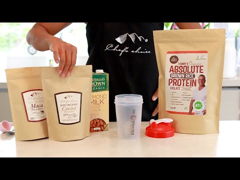 Protein Shake with Superfood :: Boost your energy