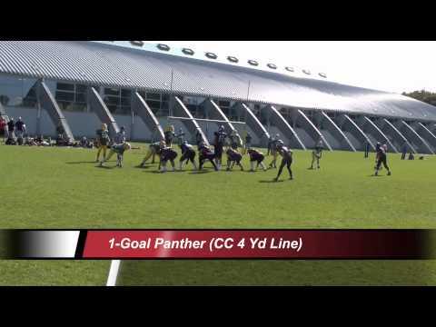 U16 Regionalliga West Düsseldorf PANTHER - Cologne CROCODILES 1.Halbzeit
