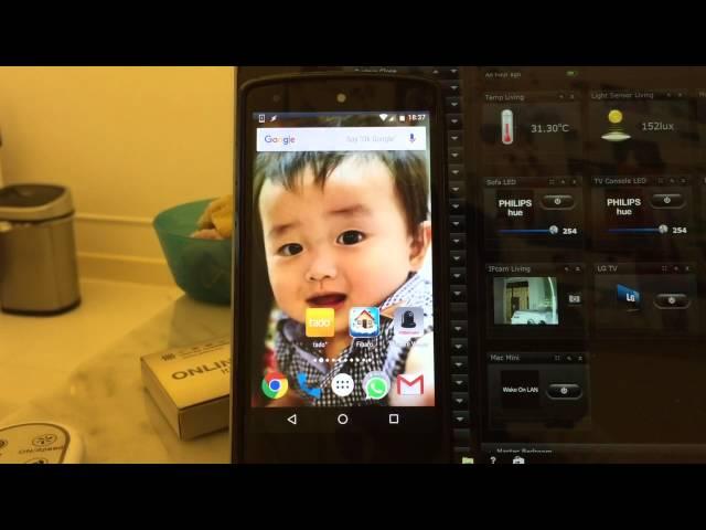 Smart Doorbell !!! Fibaro Video Gate demo