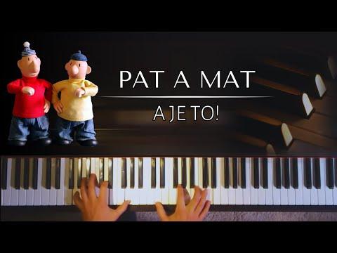 Pat a Mat  A je to melodie z Večerníčku + NOTY PRO PIANO