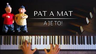 Pat a Mat - A je to (melodie z Večerníčku) + NOTY PRO PIANO