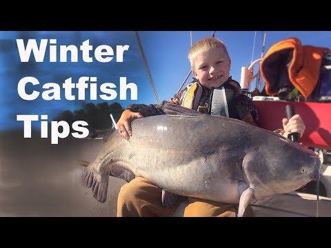 Winter Catfishing Tips