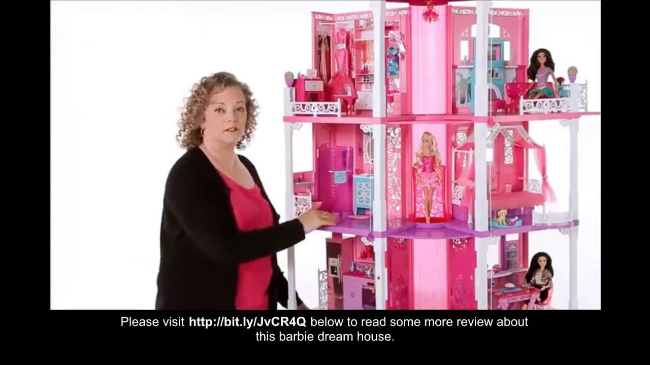 youtube video barbie dream house