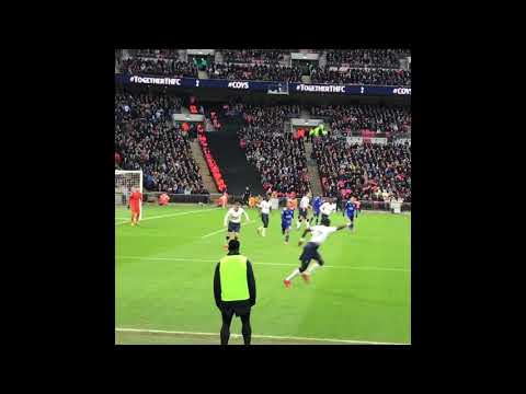 Tottenham v Leicester Wmbely POV 