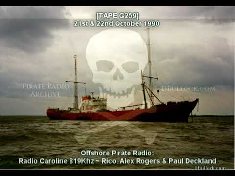 [G259] Radio Caroline 819 ~ 21-22/10/1990 ~ Offshore Pirate Radio