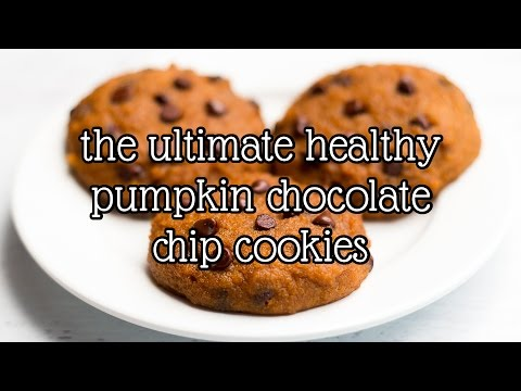 The Ultimate Healthy Pumpkin Chocolate Chip Cookies | Amy's Healthy Baking