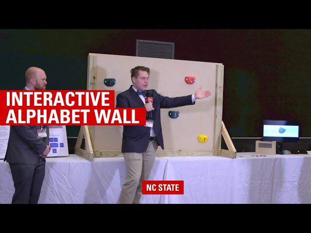 Interactive Alphabet Wall