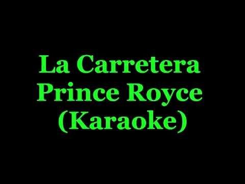 La Carretera - Prince Royce - KARAOKE