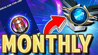 MONTHLY MEGA T2! BEST DELUXE PACK (CRYSTAL EVENT MRUT) - Marvel Future Fight