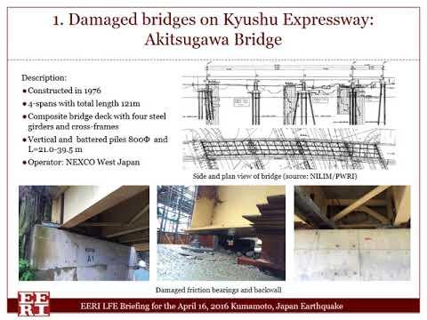 Kumamoto Earthquake Damage to Highway Bridges by Denis Istrati